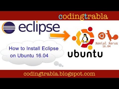 installer eclipse ubuntu 16.04