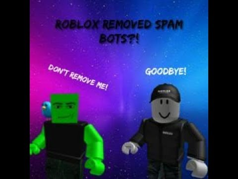 Spee Ch The End Of Roblox Scam Bots For Now Details -