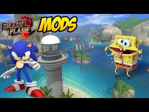 Spee ch - ssf2-mods-wave-ocean-texture-mod-sonic - details