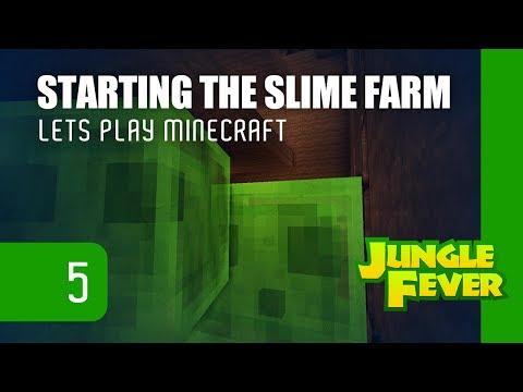 Speech Minecraft Starting The Slime Farm Jungle Details